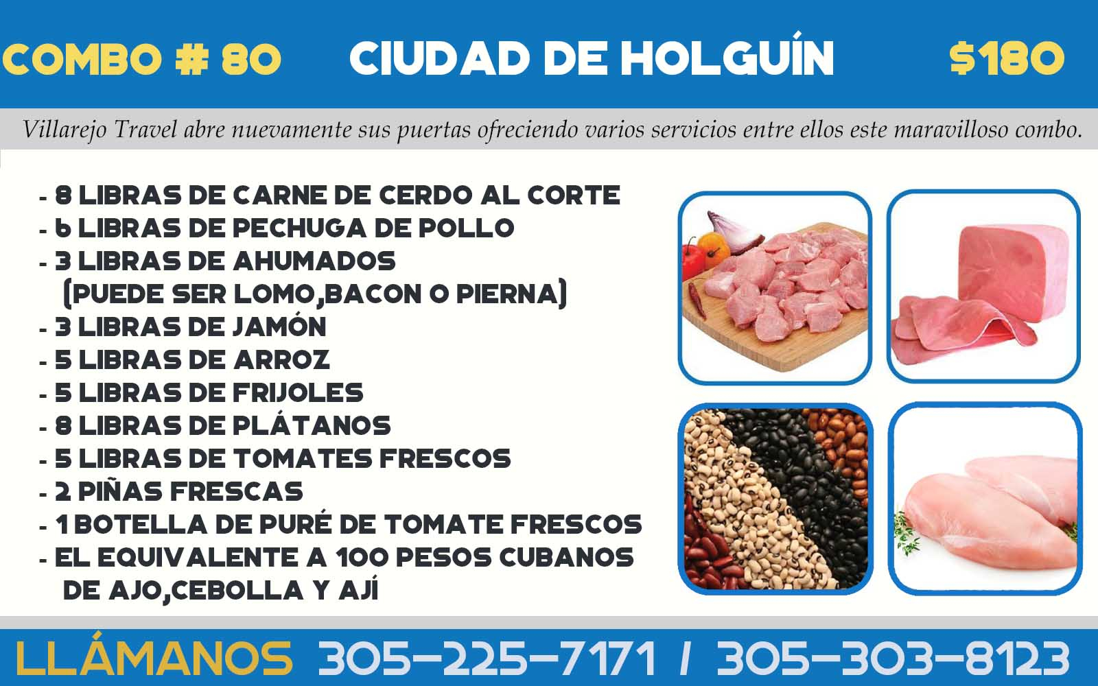 COMBO # 80  CIUDAD DE HOLGUÍN
