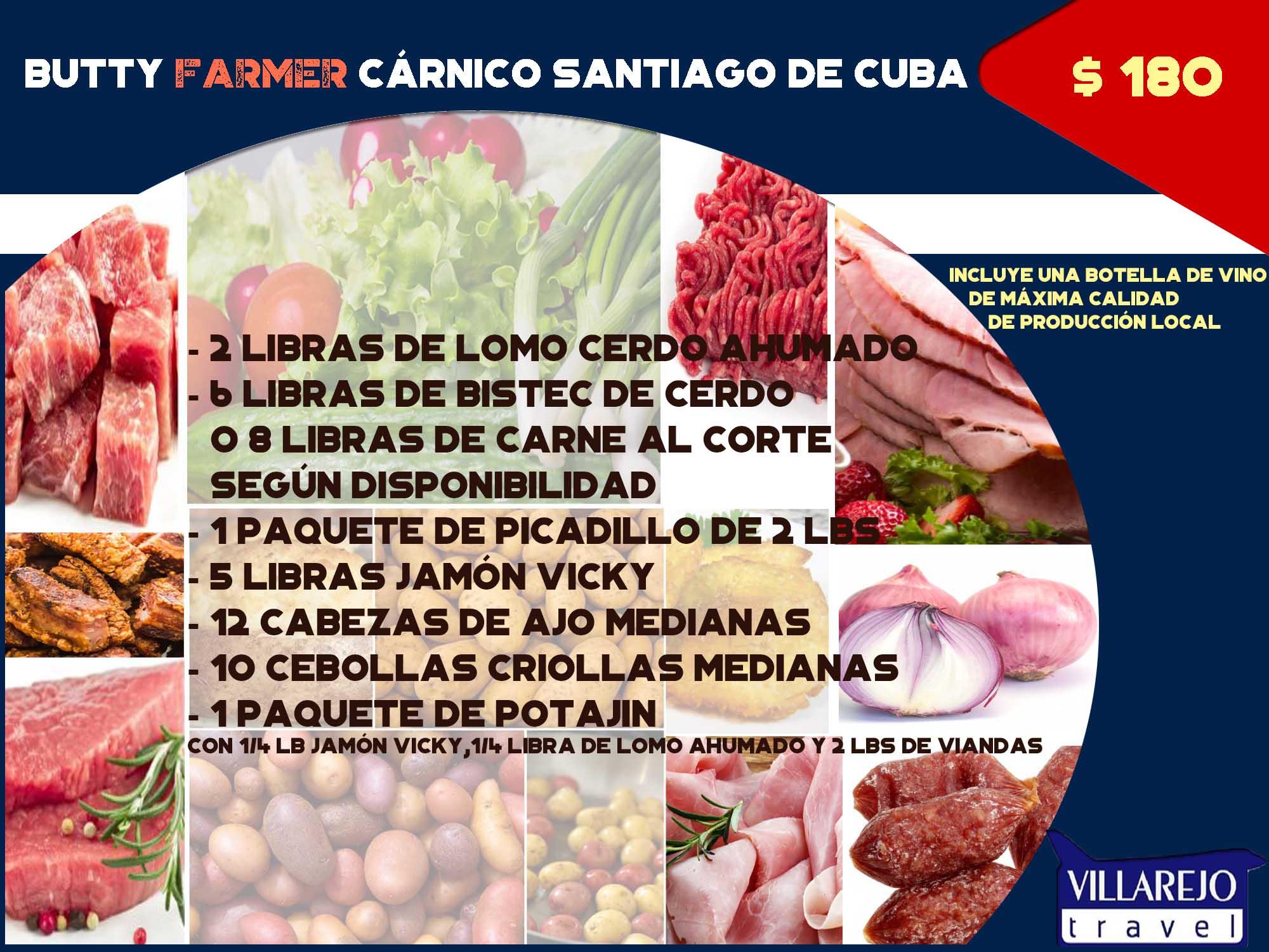 COMBO #2 Butty Farmer Cárnico Santiago de Cuba