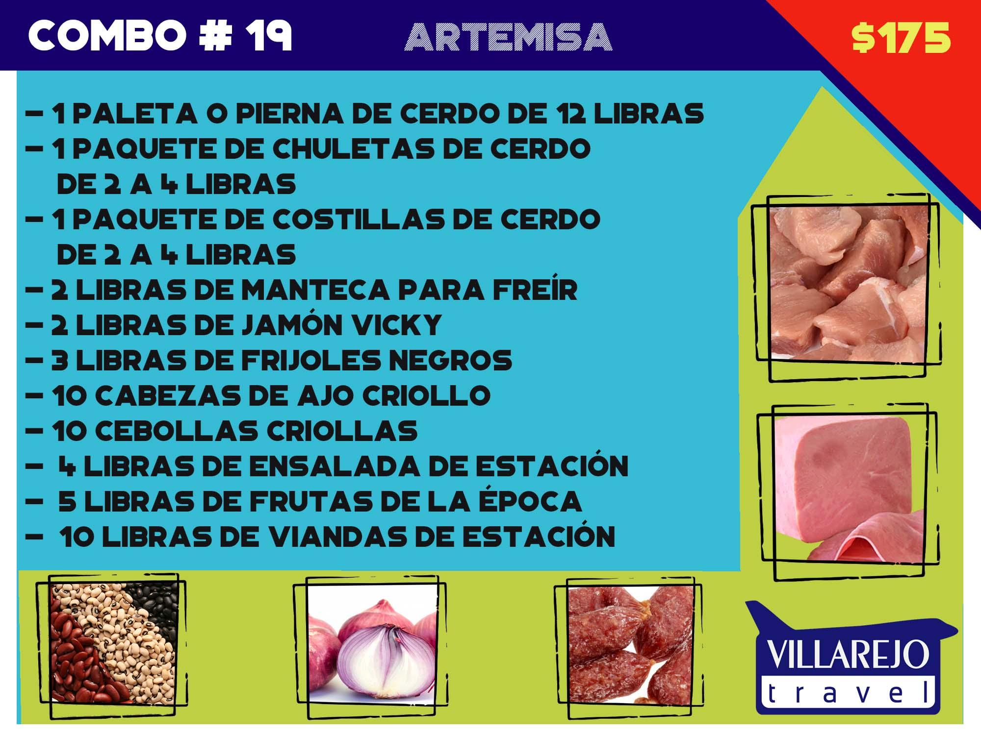 COMBO # 19 PROVINCIA DE ARTEMISA (VARIADO )