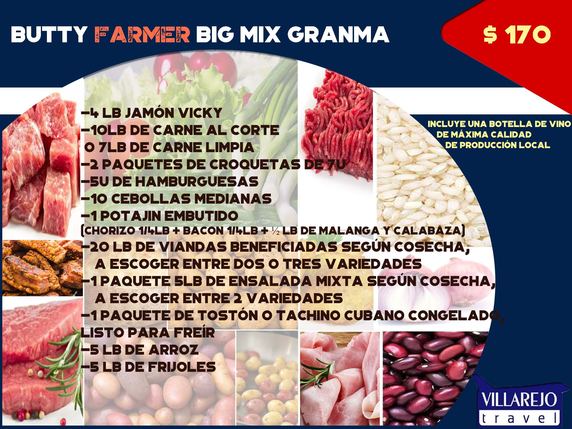 Butty Farmer Big Mix  Granma