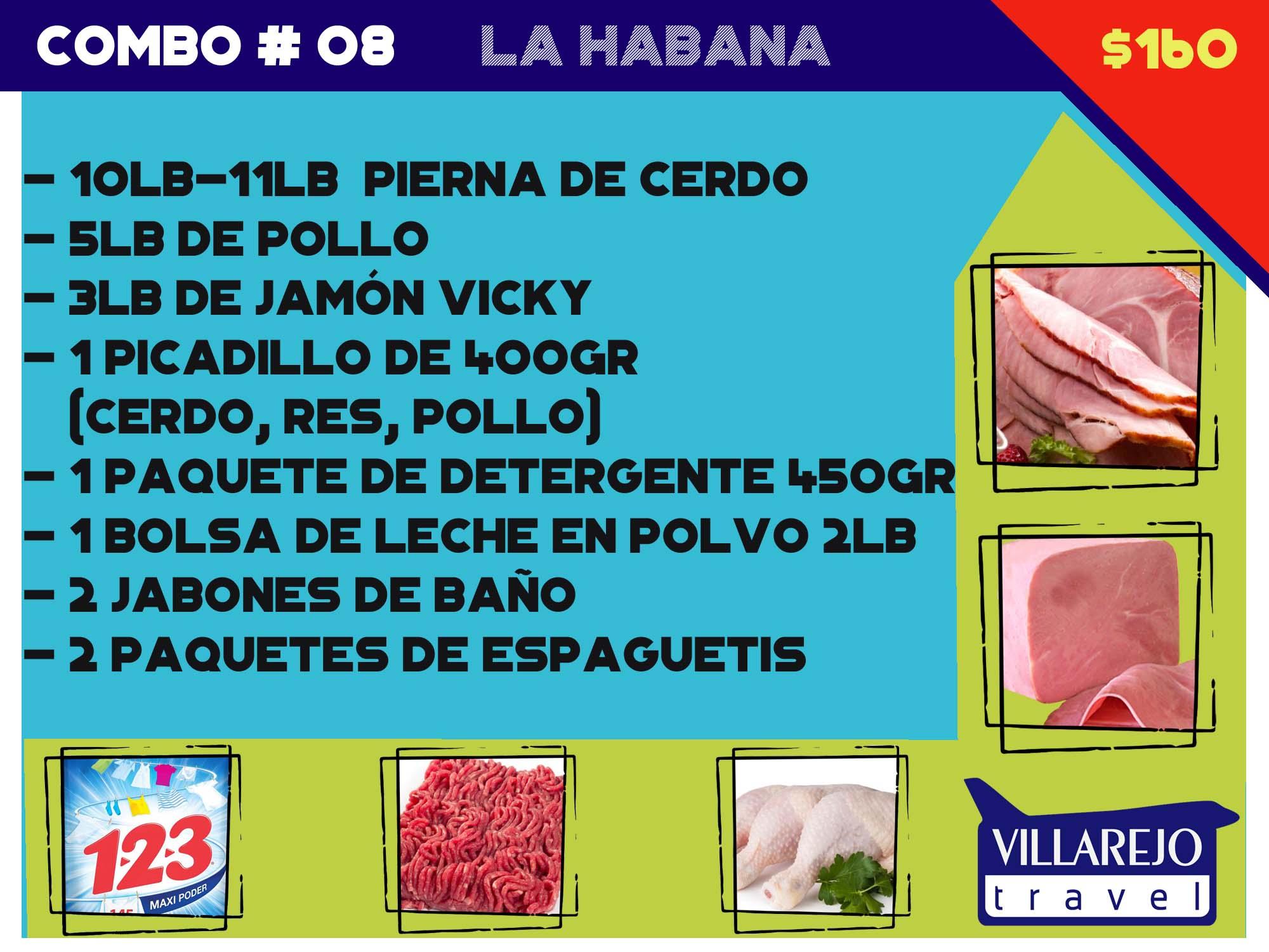 COMBO # 8  LA HABANA