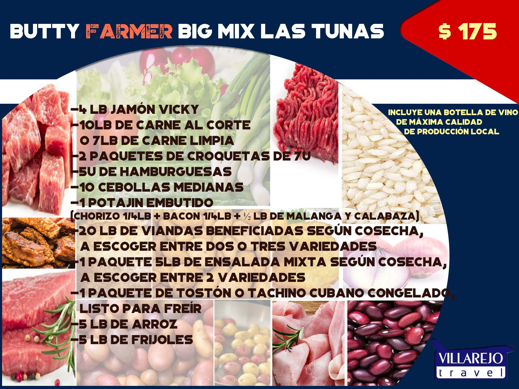 Butty Farmer Big Mix Las Tunas