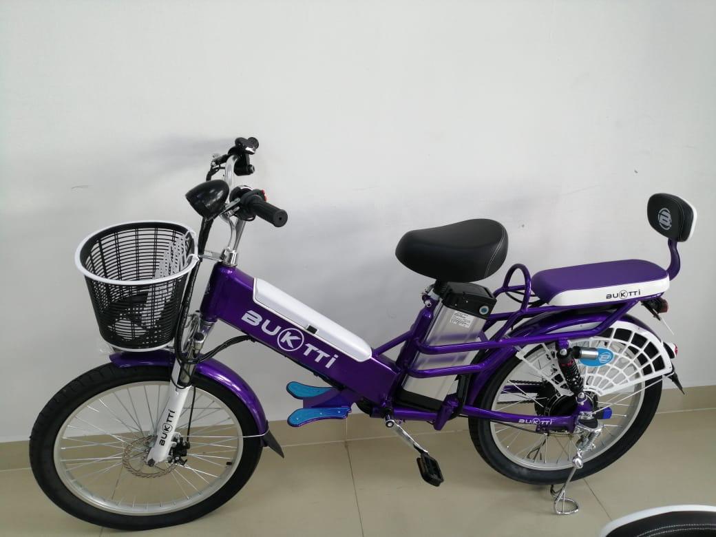 Bicicleta Eléctrica Marca BUKTTI