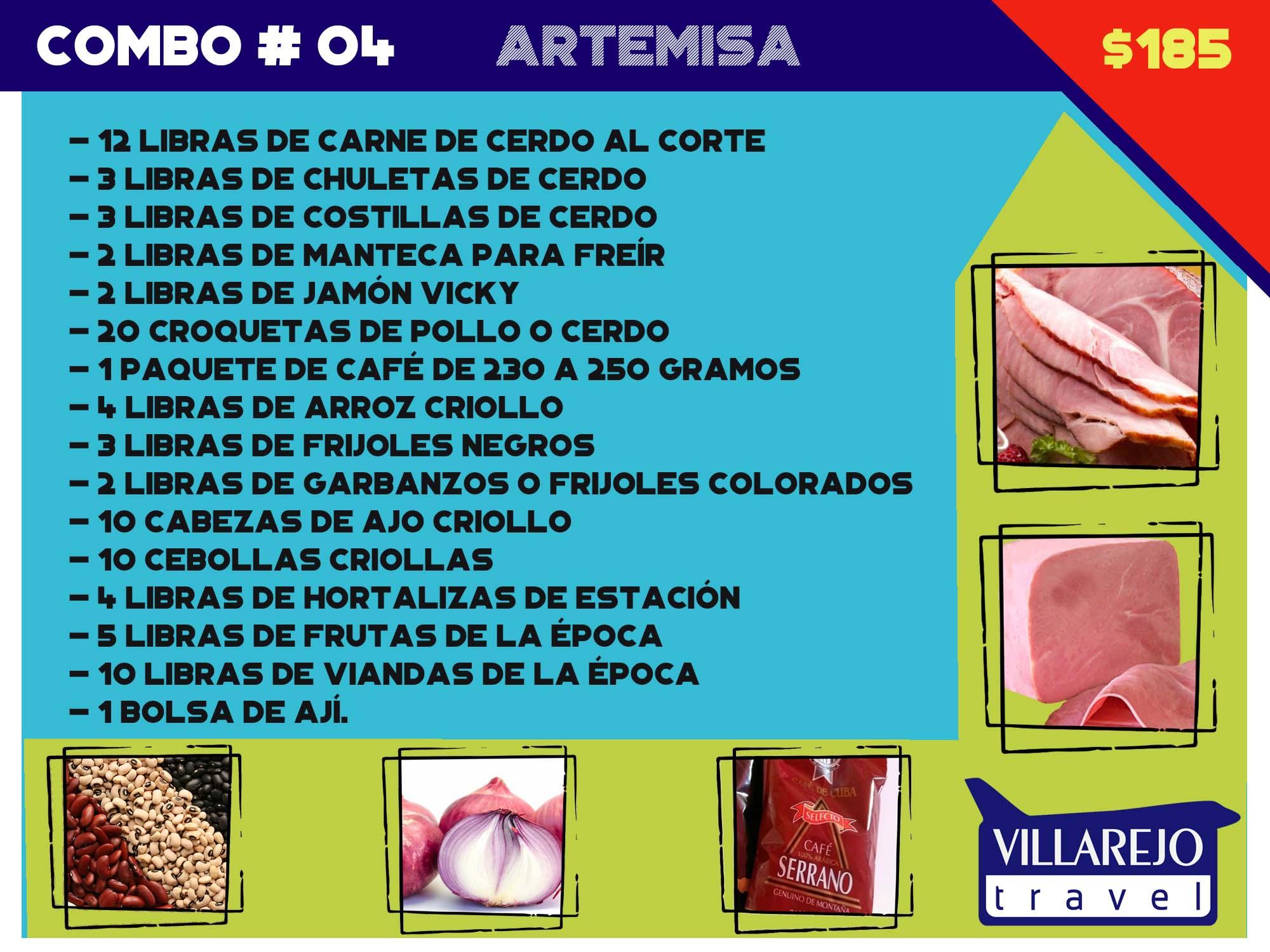 COMBO # 4 PROVINCIA DE ARTEMISA