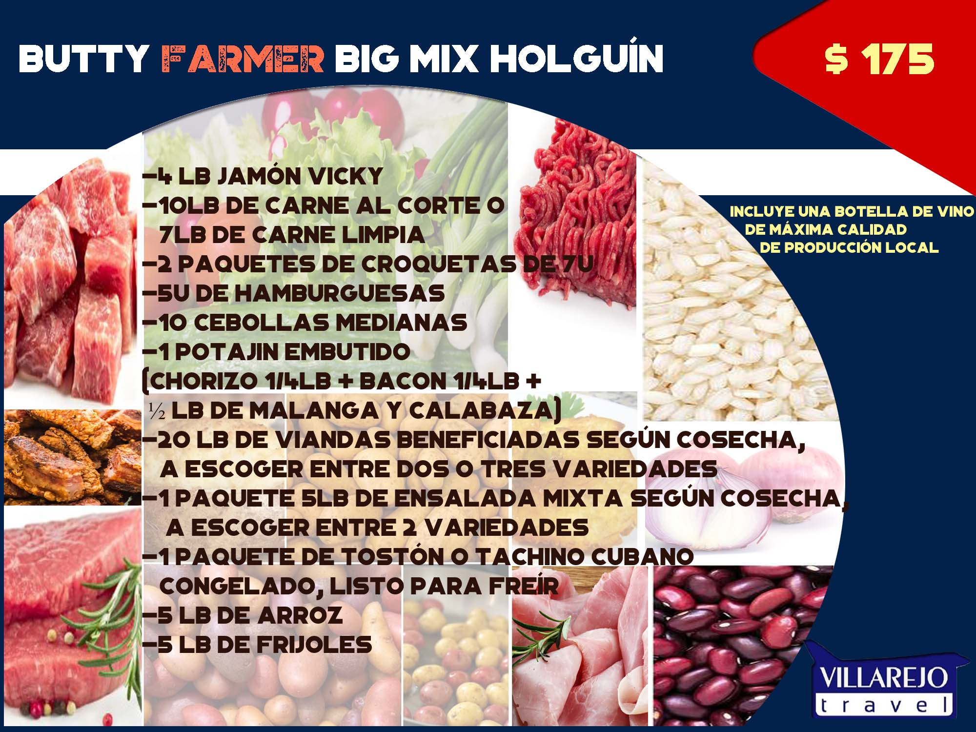 Butty Farmer Big Mix Holguín
