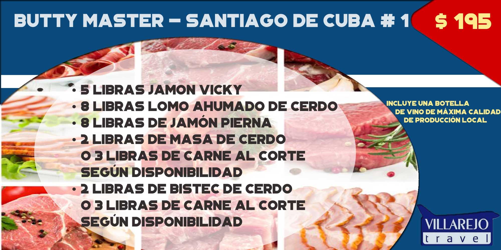 COMBO # 3 Butty Master - Santiago de Cuba