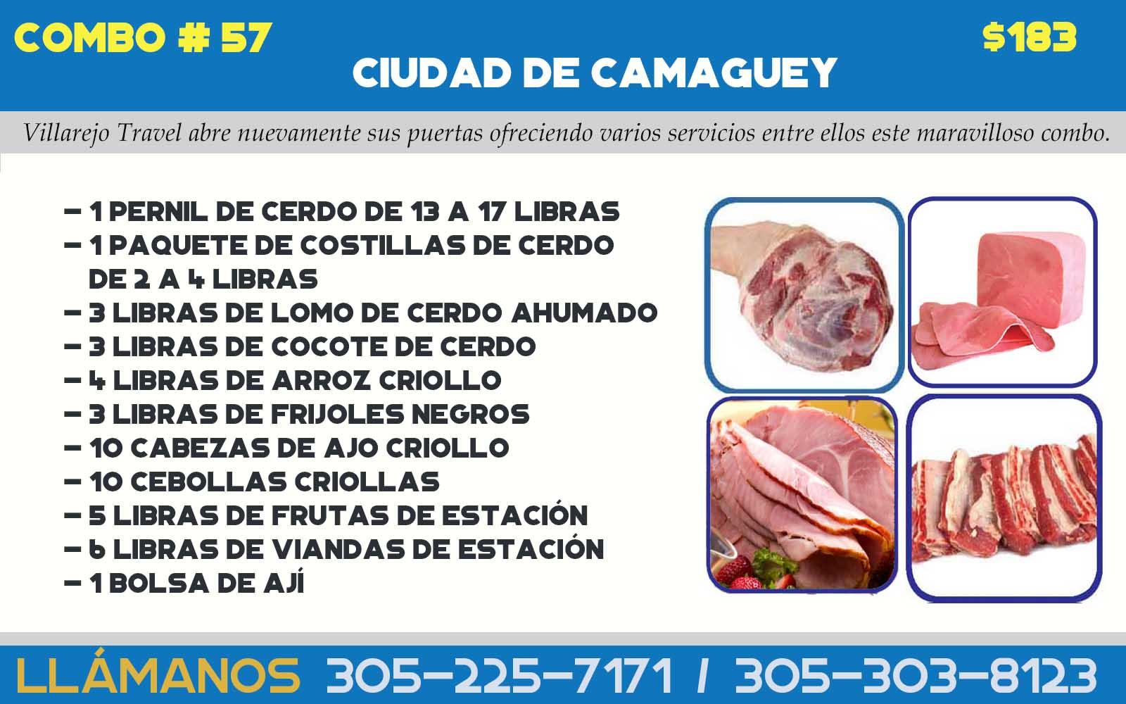 COMBO # 57 CIUDAD DE CAMAGUEY