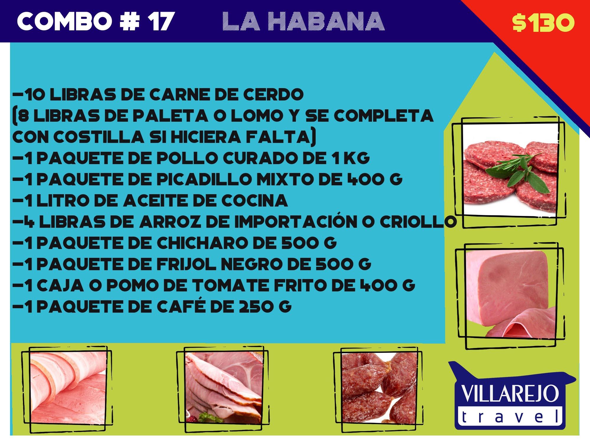 COMBO # 17 LA HABANA