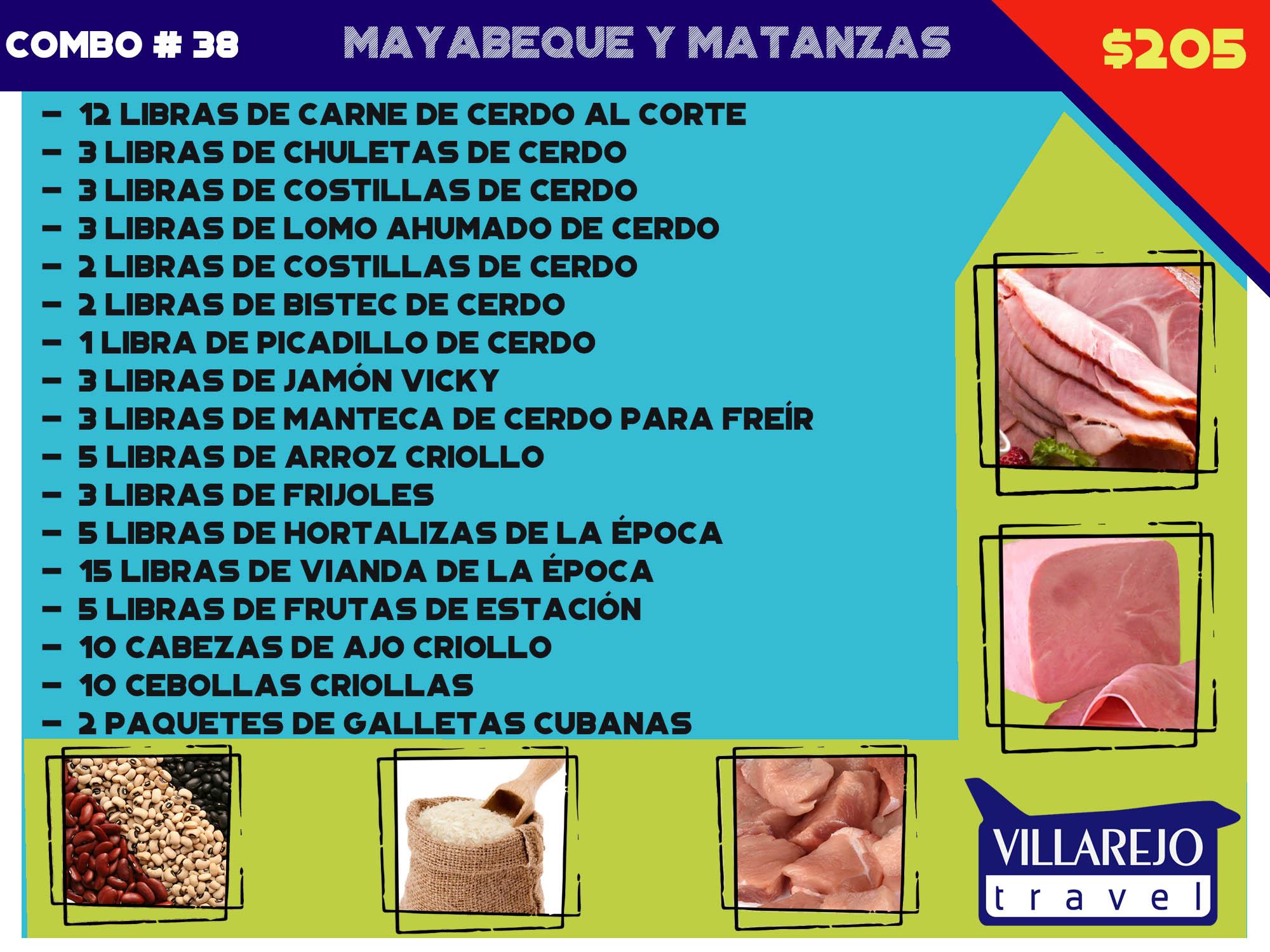 COMBO # 38 MAYABEQUE Y MATANZAS (Mixto)