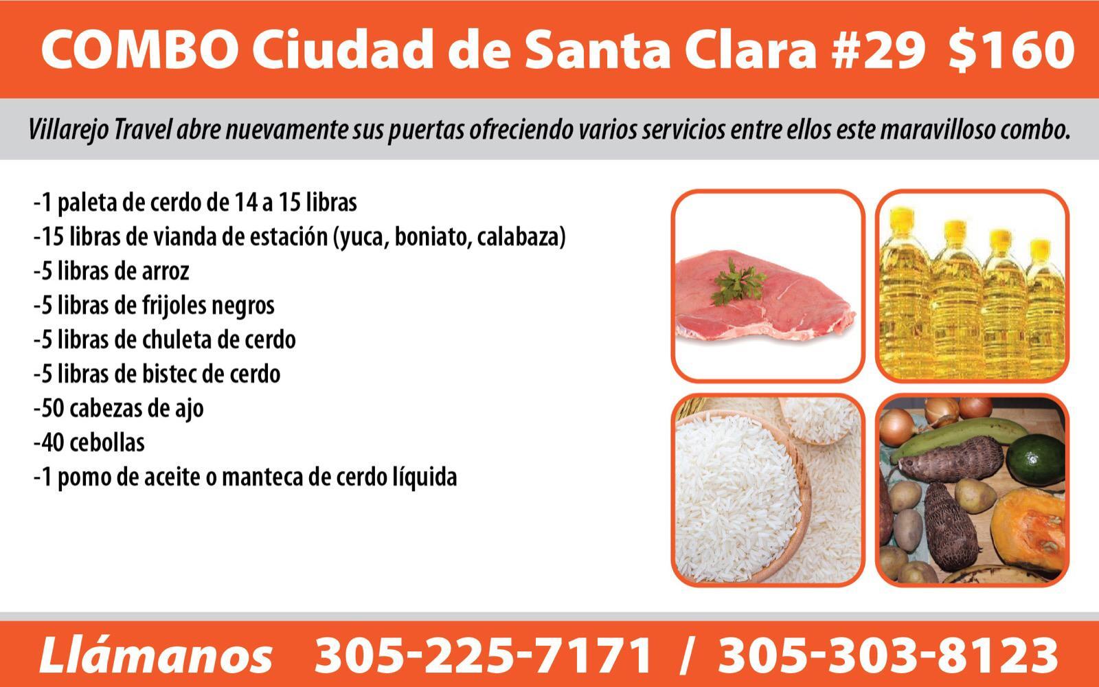 Combo #29 Ciudad de Santa Clara y Cienfuegos
