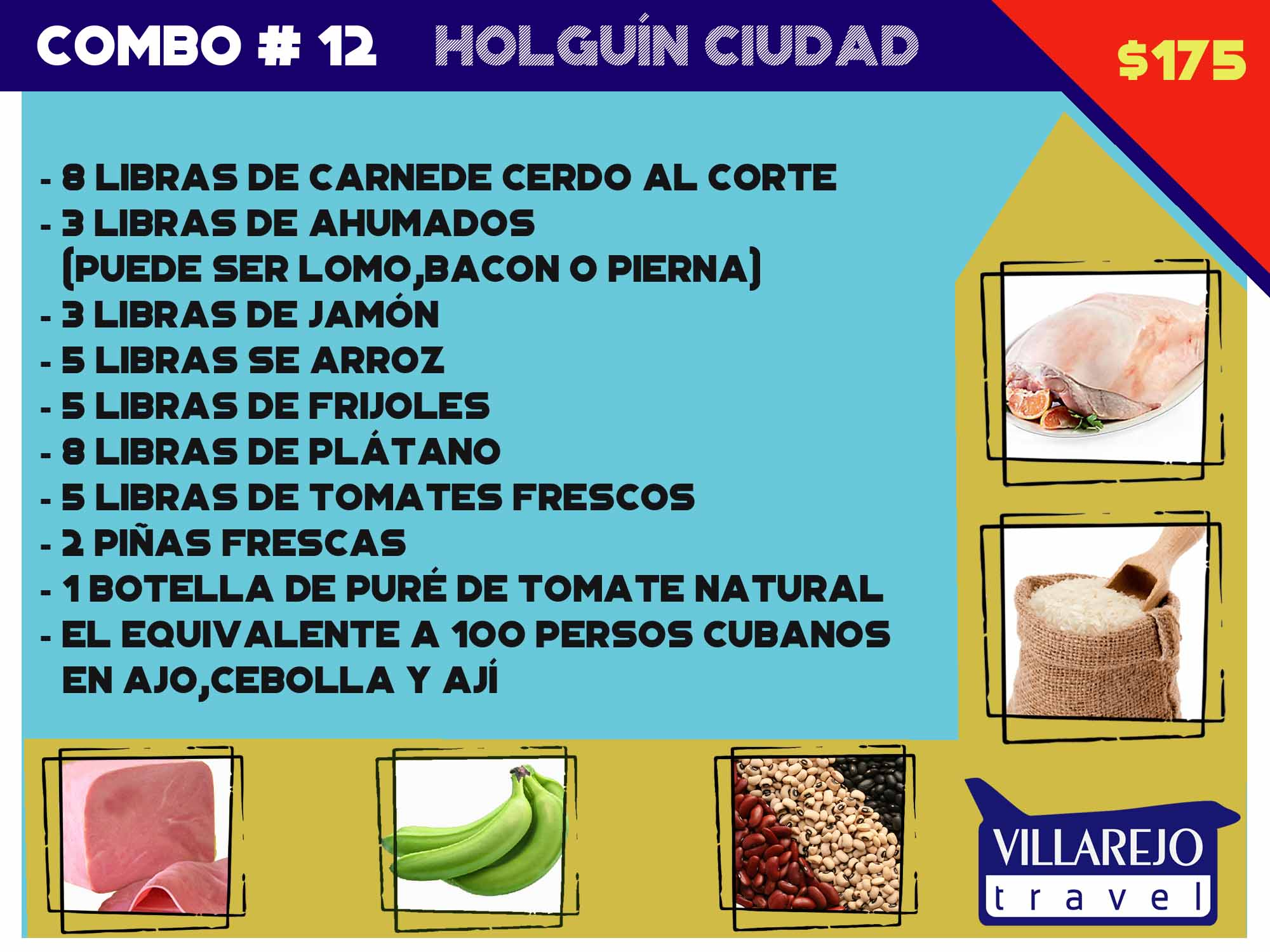 COMBO # 12 HOLGUÍN CIUDAD