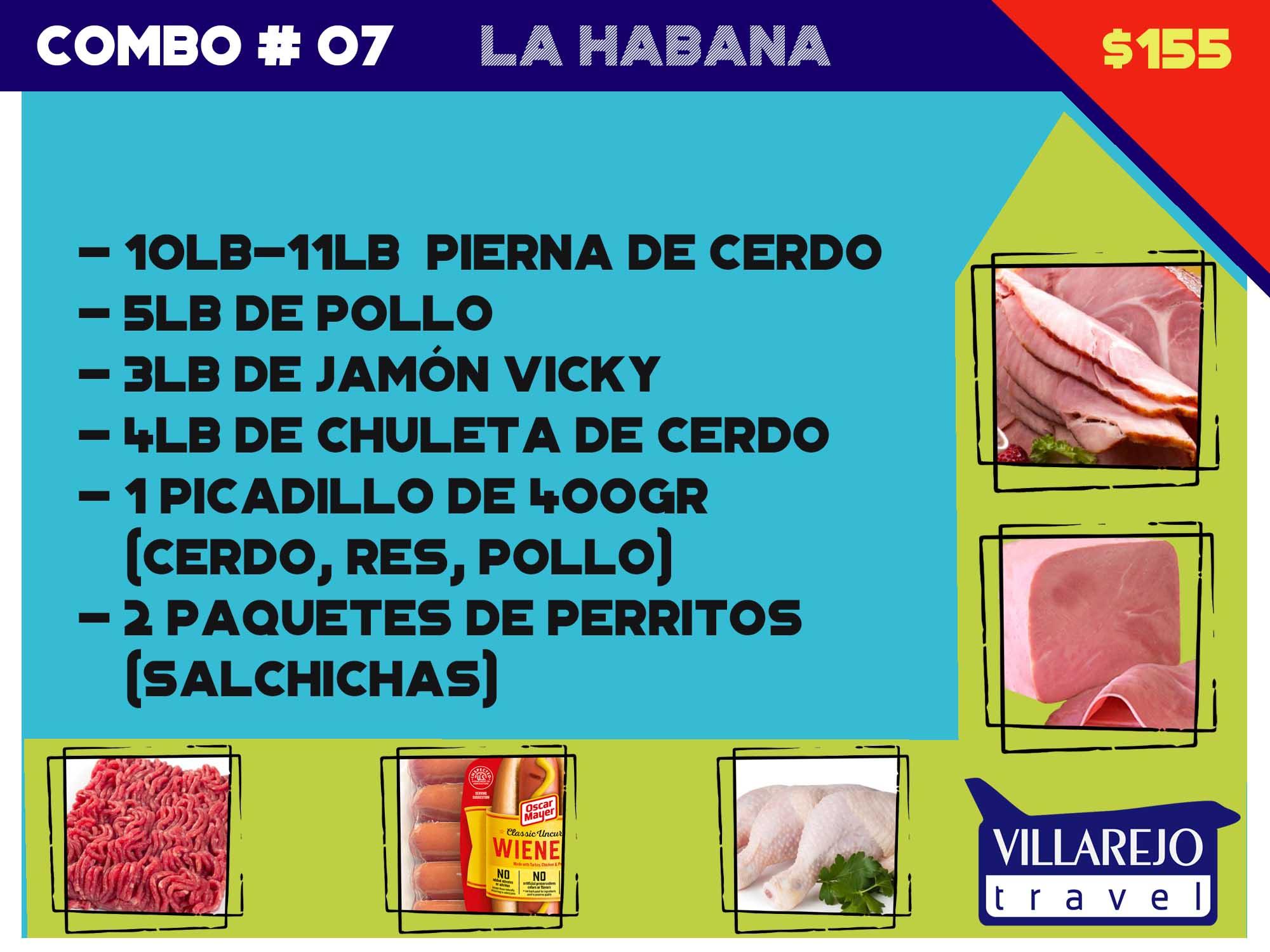COMBO # 7  LA HABANA