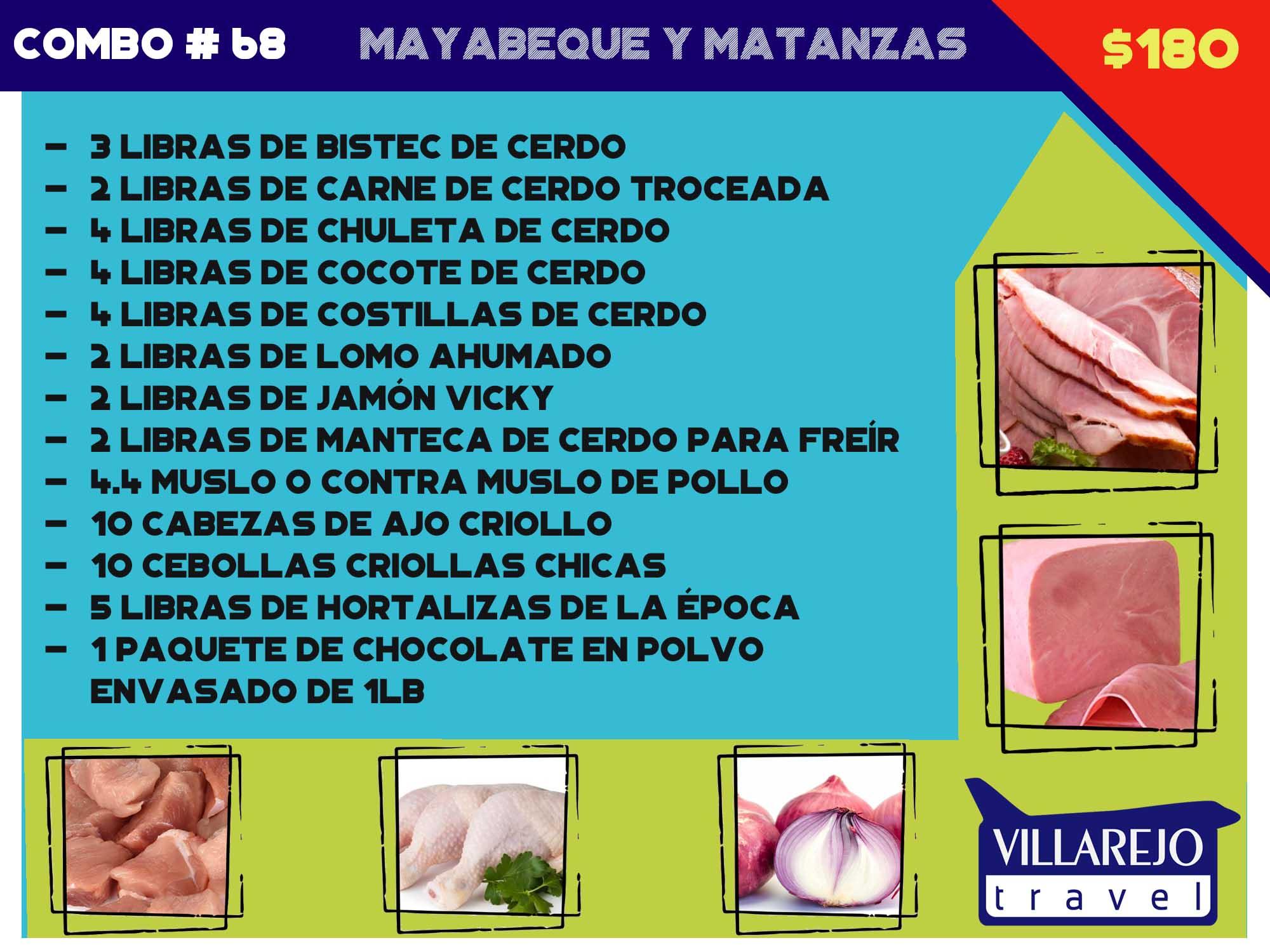COMBO # 68 MAYABEQUE Y MATANZAS