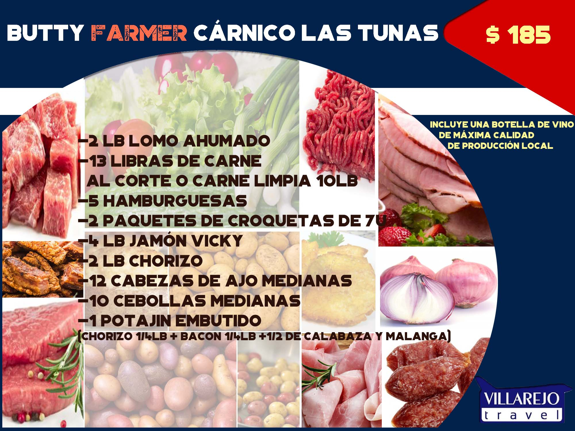Butty Farmer Cárnico Las Tunas