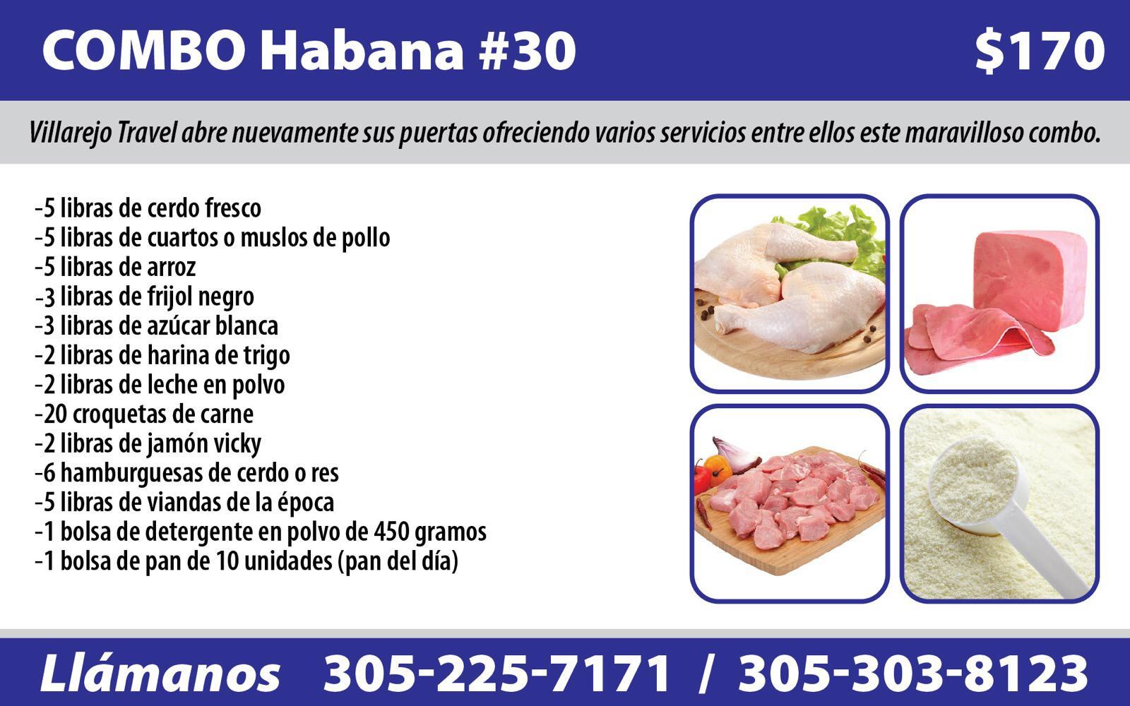 Combo Habana #30