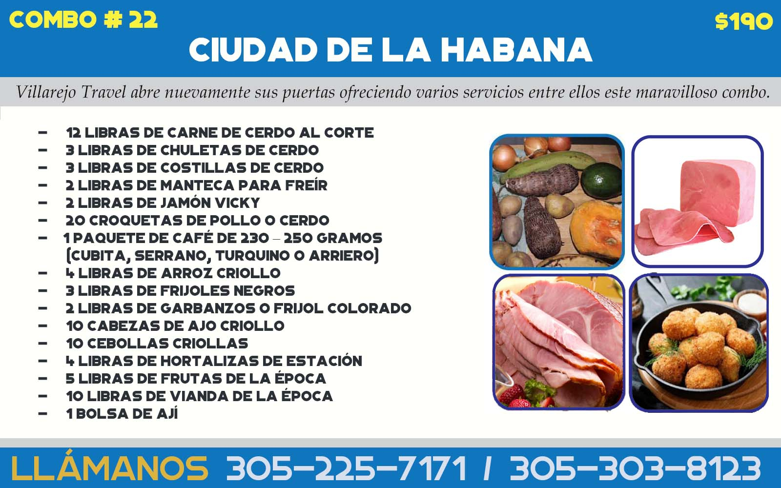 COMBO # 22 CIUDAD DE LA HABANA  (Mixto)