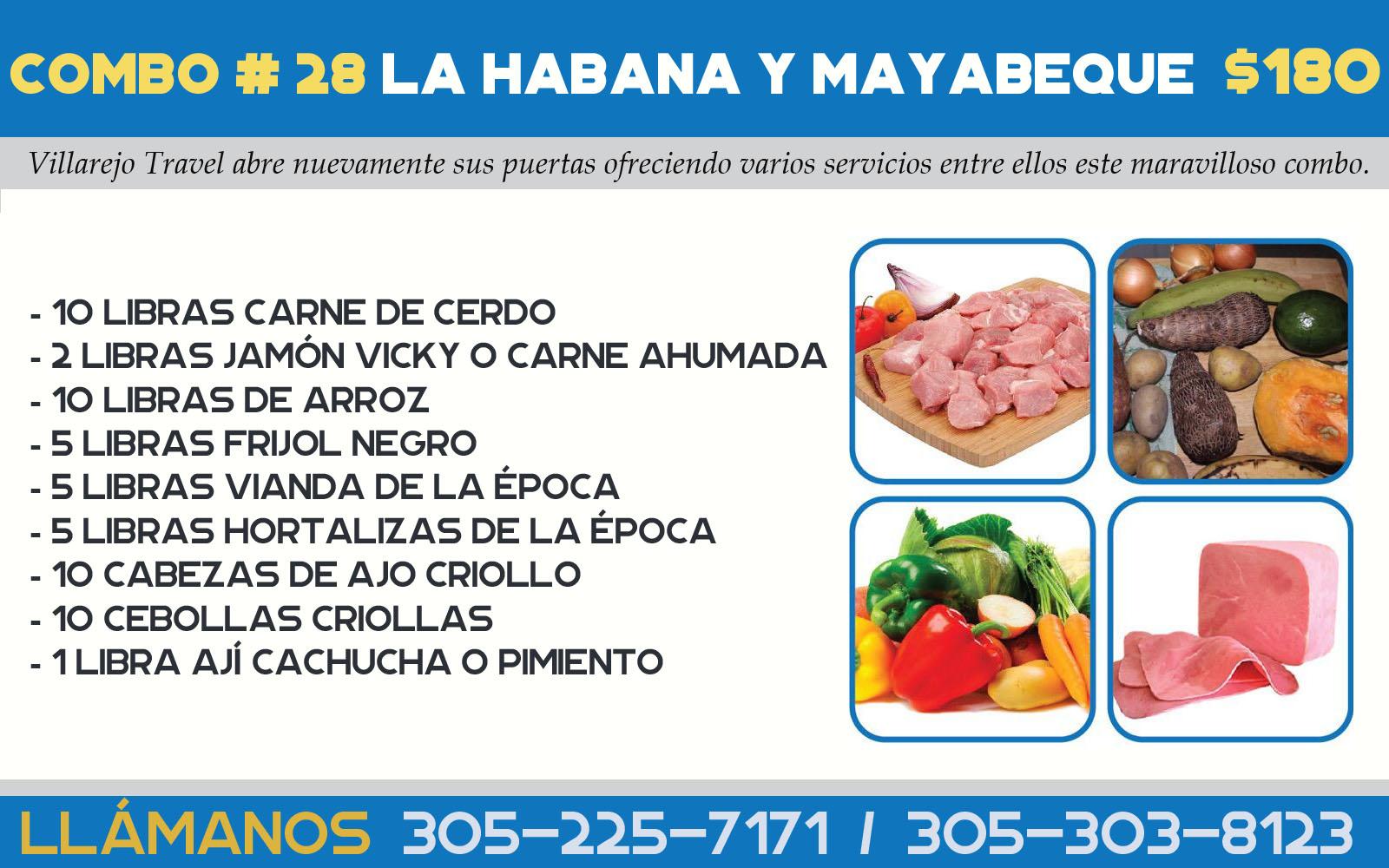 Combo #28 Habana y Mayabeque